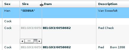 LoftManager Online - List Usage